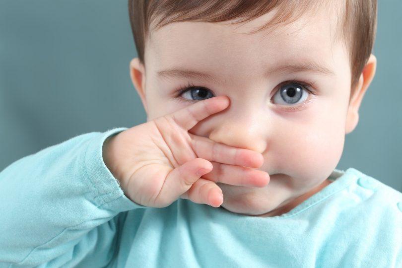 صورة علاج سيلان الانف عند الرضع , طرق للتخلص من الرشح عند الصغار