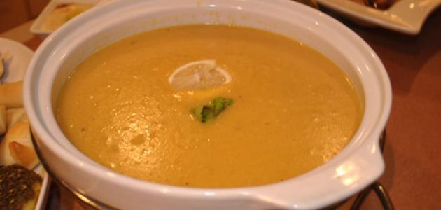 صورة طريقة تحضير شوربة العدس , اسرع وصفه لعمل حساء العدس