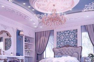 صور ديكورات جبس غرف النوم , احدث تصميمات جبسون بورد لاوض النوم