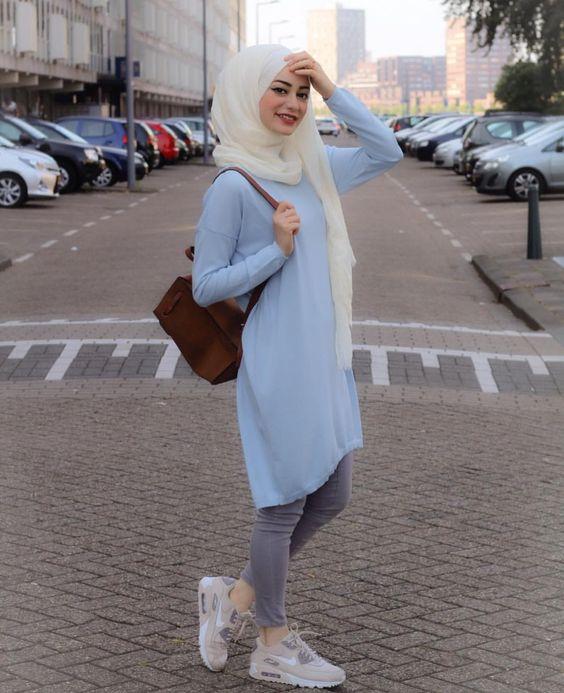 صور ملابس بنات محجبات مراهقات , ازياء سن المراهقه لفتيات بالحجاب