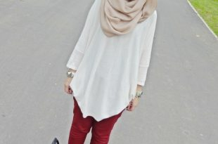 صورة ملابس بنات محجبات مراهقات , ازياء سن المراهقه لفتيات بالحجاب