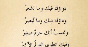صور شعر عربي فصيح , تمبلر كلمات شعريه بالعربي الفصيح