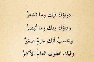 صورة شعر عربي فصيح , تمبلر كلمات شعريه بالعربي الفصيح