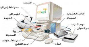 صورة مكونات الحاسوب , تعرف على اجزاء الكمبيوتر